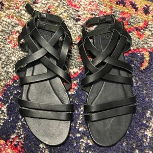 Strappy Black Teva Sandals